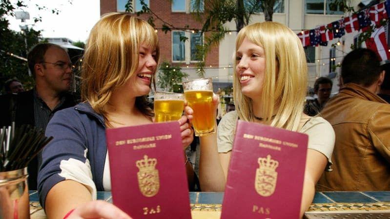 Đan Mạch là một trong 2 nước sở hữu cuốn hộ chiếu 'quyền lực' đứng thứ 5 trên thế giới. (Nguồn: Getty Images)