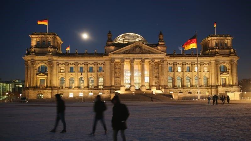 Tòa nhà Quốc hội Đức. (Nguồn: Getty Images)