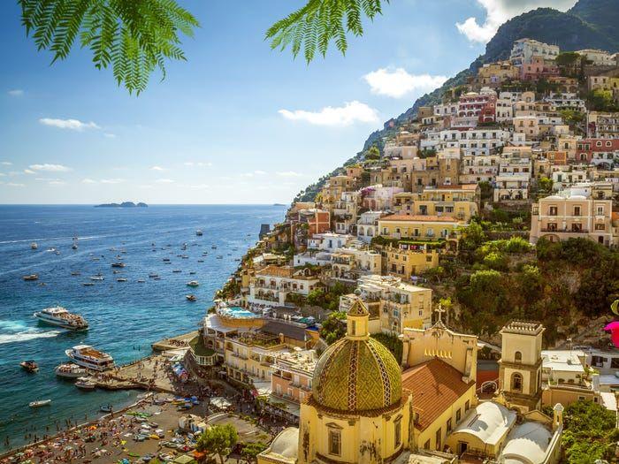 Thành phố Positano, Italy. (Nguồn: Shutterstock)