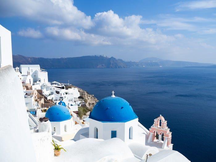Thành phố Santorini, Hy Lạp. (Nguồn: Shutterstock)