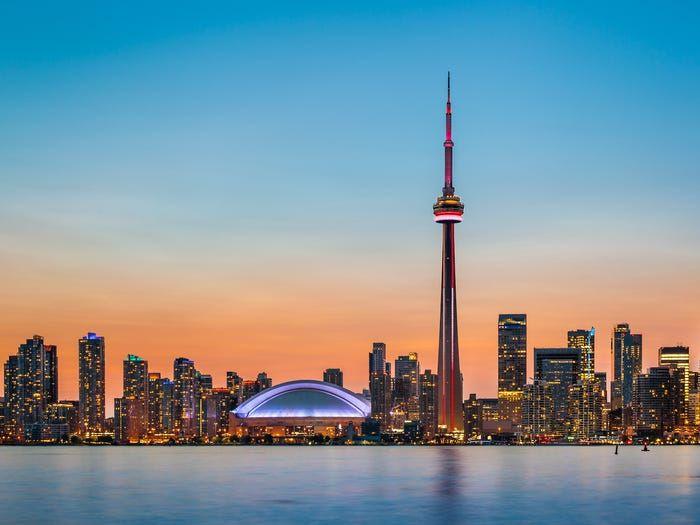 Thành phố Toronto, Canada. (Nguồn: Shutterstock)