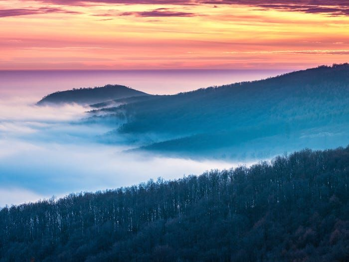 Vùng núi Matra ở Hungary. (Nguồn: Getty Images)